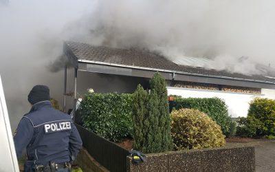 017 – 18.01.2018 – Wohnhausbrand – Ramstein