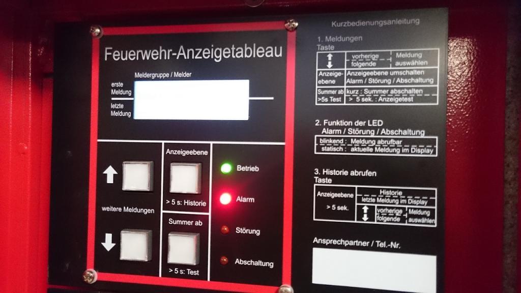 163 – 01.09.2021 – ausgelöste Brandmeldeanlage – Ramstein