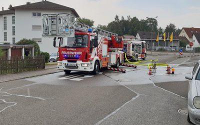 202 – 01.08.2018 – Wohnhausbrand – Ramstein