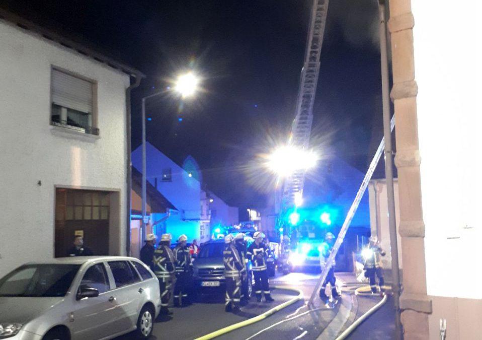Wohnungsbrand in Ramstein