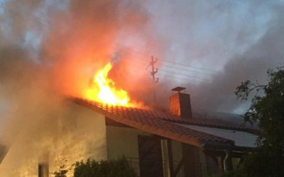 214 – 07.07.2019 – Gebäudebrand – Eulenbis
