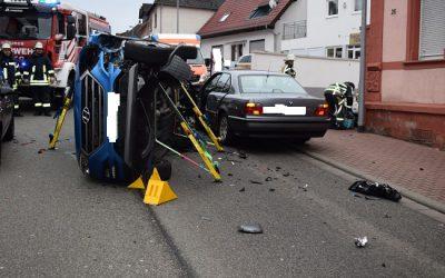 313 – 10.12.2019 – Verkehrsunfall eingeklemmte Person – Ramstein