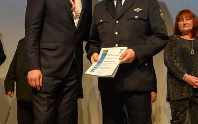 Bürgermedaille verliehen an Martin Fischer