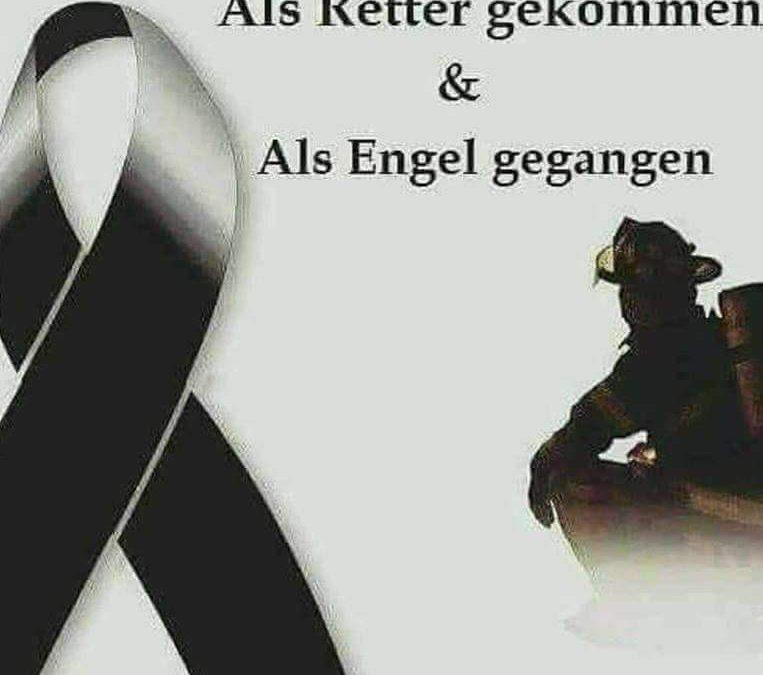 Feuerwehrmann aus Lienen im Einsatz sein Leben verloren