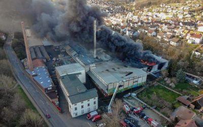 061-062 – 22.03.2020 – Brand einer Halle – Otterberg