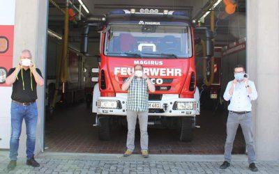 Feuerwehr Ramstein sagt Danke