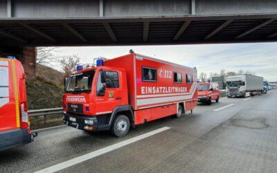 Einsatz Autobahn A6